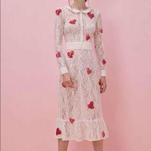 For Love & Lemons X Jamie King La Zosia Midi Dress